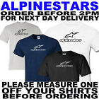 ALPINE STARS UNOFFICIAL T SHIRT ALL SIZES TO 5XL(OTHER COLOURS AVAILABLE)