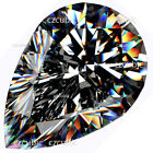 """PEAR SHAPE RUSSIAN SIMULATED SUPER QUALITY CUBIC ZIRCONIA CZ  """" EACH 1 PC """""""