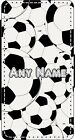 PERSONALISED MULTI FOOTBALLS iPHONE 4s 5s 6s 6s+ 7s 7s+ 8s 8s+ PU LEATHER CASE