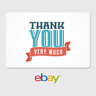Kyпить eBay Digital Gift Card - Thank You Very Much - Email Delivery на еВаy.соm