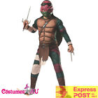 Mens Raphael TMNT Costume Teenage Mutant Ninja Turtles Movie Deluxe Fancy Dress