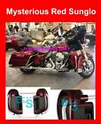 Mysterious Red Sunglo Lower Vented Fairings fit 14-17 Harley Road Street  Glide