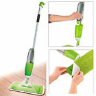 Spray Mop Water Spraying Floor Cleaner Tiles Microfibre Marble Kitchen