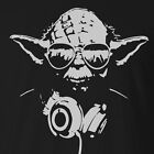 Cool Hipster Yoda T-shirt Or Singlet - Star Wars Costume - All Colours + Sizes