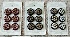 Choice of Vintage Mid-Century NYB Co. High Grade Round Inlay Plastic Buttons