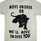 Black Panther Party All Power Move Over shirt t-shirt Protest Revolution Unisex