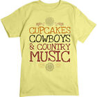 bouquet cupcakes - Cupcakes And Cowboys TEE Country Music TShirt Floral Design