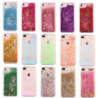Shockproof Diamod Glitter Star Liquid Back Case Cover For  iPhone 5 7 6s plus