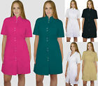 Salon Dress SPA Tunic Pockets Therapist Uniform Beauty Hair Massage Dentist Susa