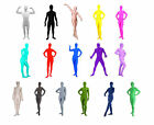 NEW Costume Lycra Spandex Zentai Second Skin Full Body Suit for Men and Women