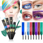 Huamianli ~ Colorized Mascara ~ 8 Color ~ Blue White Pink Purple Green Brown
