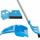 WISP Cleaning Set with One-Handed Broom, DustPan, MiniWisp Whisk & Mini Dust Pan