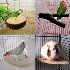 Wooden Bird Parrot Cage Perches Platform Stand Parakeet Budgie Hanging Toys