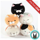 Japan Amuse Tsumeru! Mochikko Hige Manjyu Cat Plush Collection Mascot Ultra Soft