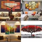Colorful Tree Modern Art Canvas Oil Painting Picture Print Home Wall Decor
