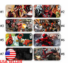 IPhone X 5 SE 6 7 8 Plus Phone soft/hard case TPU DeadPool Marvel Superhero