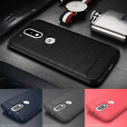 Shockproof Brushed Soft TPU Case Cover For Motorola Moto G4/G4 Plus/Play/G3/E3