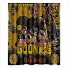 the goonies shower curtain 60x72 inch - with hooks