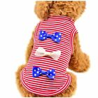 Summer Various Pet Puppy Small Dog Cat Pet Clothes Vest Top T Shirt Apparel Coat