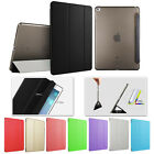 Leather Slim Magnetic Smart Cover Back Hard Stand Case Ultra for iPad Air 1