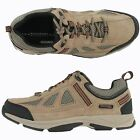 Men Rockport ROCK COVE K74443 Taupe Suede Casual Lace-Up Comfort Walking Shoes