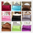 1PC Pillowcase 9 Colors Cushion Cover New Silk Plant Fiber Decorative Couch