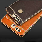 Luxury Ultra-thin Leather Back Case Skin Cover For Huawei Ascend P8 P9 P10 Lite