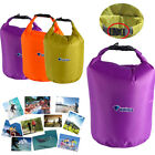 10 20 40 70L Waterproof Dry Bag Canoe Floating Boating Kayaking Camping DY