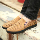 2017 Mens Driving Slip on Loafers Summer Breathable Mesh Casual Shoes Size 6-9