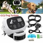 No-Wire 1/2/3 Dog Fence Wirelss Pet Containment System Rechargeable &Waterproof