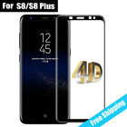 4D Curved Explosion-proof Full Tempered Glass for Samsung S8 plus edge Screen