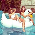 Summer Giant Inflatable Flamingo Swan Floats Swim Pool Ring Water Rafts