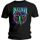 RUSH MOVING STARMAN 2112 BRAND NEW OFFICIALLY LICENSED T-SHIRT