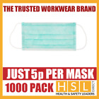 1000pcs DISPOSABLE SURGICAL FACE SALON DUST CLEANING Ear Loop Flu MASK CE