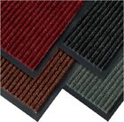 Heavy Duty Non Slip Rubber Barrier RIBBED Mat Large Small Rugs Door Hall Kitchen