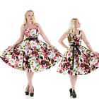 Hearts and Roses (H&R) Pin Up Rockabilly 50s Cannes Floral Dress