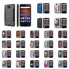 Huawei Ascend XT [AT&T GoPhone H1611] Dual Armor ShockProof Case  Design [E]