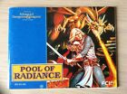 AD&D Pool Of Radiance Nintendo Manual Instruction Booklet Dungeons & Dragons FCI