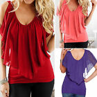 Fashion Women Summer Loose Top Short Sleeve Blouse Ladies Casual Tops T-Shirt~