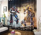 *** Custom-Made Transformers Curtain - Optimus Prime & Bumblebee ***