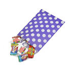Purple Polka Dot Spot Sweet Party Wedding Popcorn Gift Paper Bags - 2 Sizes