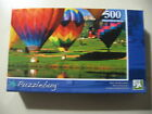 500 pc Puzzle, Puzzlebug: Hot Air Balloons, Brand New & Sealed