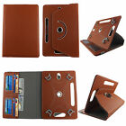 """Folio Cover for Kindle Fire HD 7"""" (2014) (PU) Case/360° Stand/Card Pocket"""