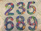 NWT Haitian Handpainted Metal Tropical Reef House Numbers 2,3,5,6,8,9