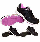 LADIES GROUNDWORK LIGHTWEIGHT WOMENS SAFETY STEEL TOE CAP TRAINERS  WORK BOOTS