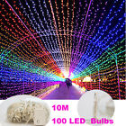 Hot Sales 10M 100 LED Bulbs Christmas Fairy String Lights Decoration Waterproof