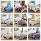 Floral Quilt Cover Set Single/Double/Queen/King Size 100%Cotton Bed Pillowcase