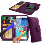 For Cubot S600 - Clip On PU Leather Book Wallet Case & Glass
