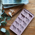 Pastel Silicone Ice Cube Mold Maker Tray With Lid, Polar Bear