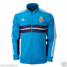 REAL MADRID ADIDAS MENS ANTHEM JACKET / TRACK TOP Jacket Turquoise, Navy